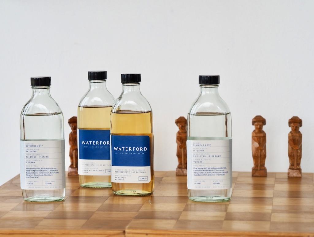 Waterford Distillery, pure Irish barley, American virgin oak cask, French premium cask, sweet fortified wine casks