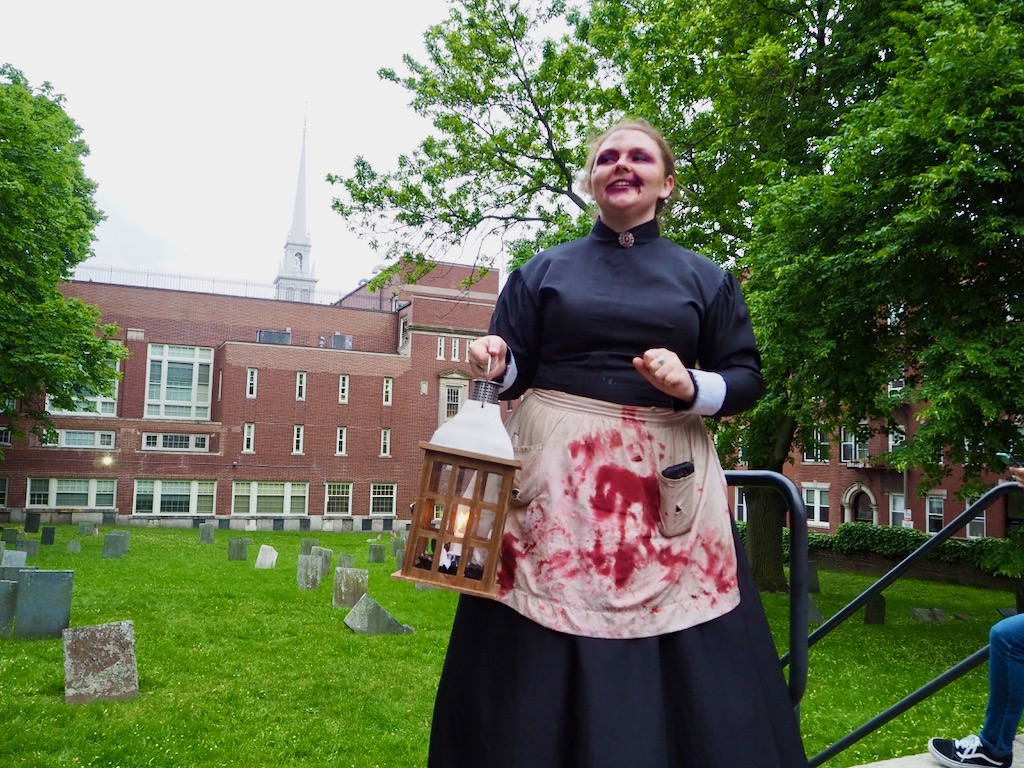Ghosts & Gravestones Tour Boston, Boston tours, what to do in Boston