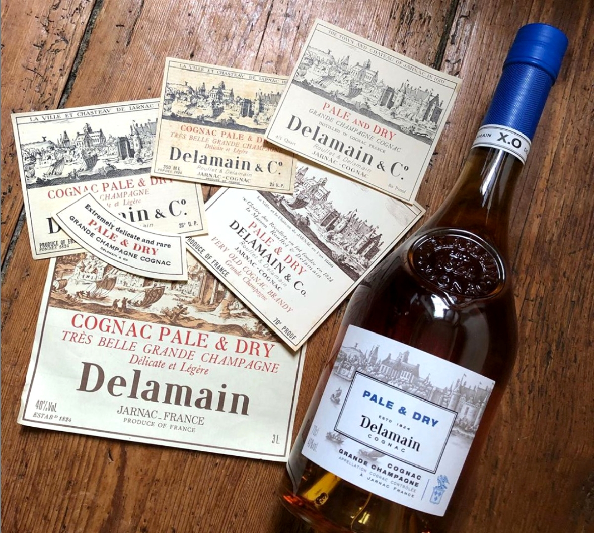 Pale & Dry X.O., Maison Delamain, world cognac day
