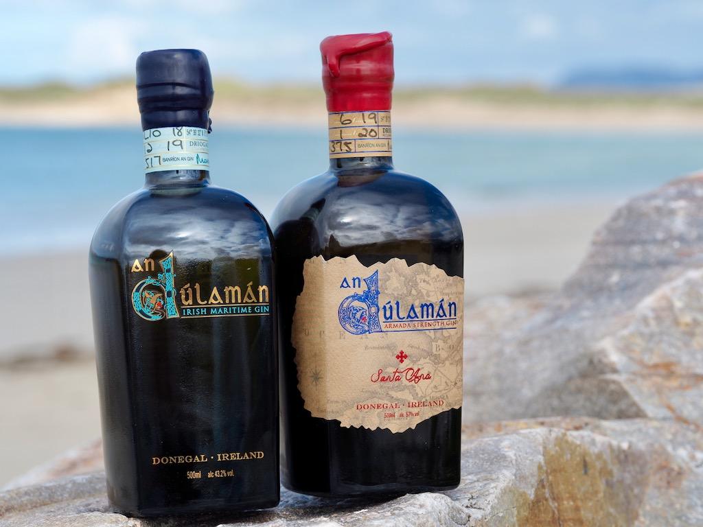 best gins, world gin day, AnDúlamán gin
