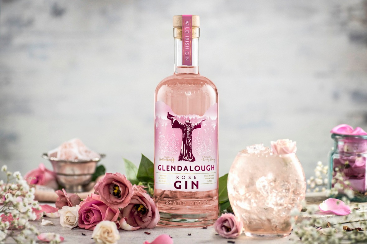 Glendalough Rose gin, best gins, world gin day