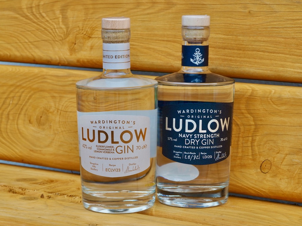 Wardington's Ludlow Gin, best gins, world gin day