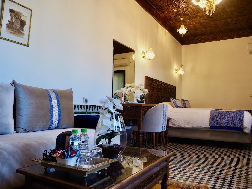 luxury accommodation Fez, luxury suites Fes