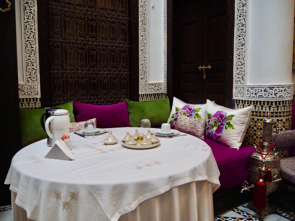 Le Grand Alcazar Riad, discover Fez, where to dine in Fez