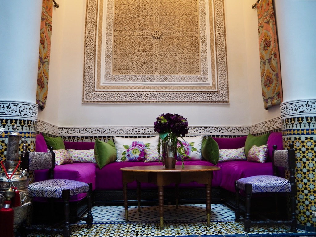 luxury riads in fez, visit morocco, where to stay in fez