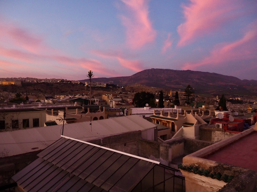 room with a view in fez, best suites in fez, best terrace in fez