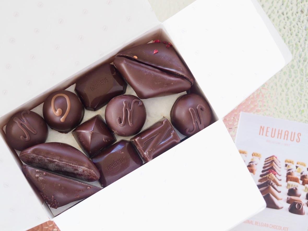 Neuhaus chocolate, world chocolate day, international chocolate day,