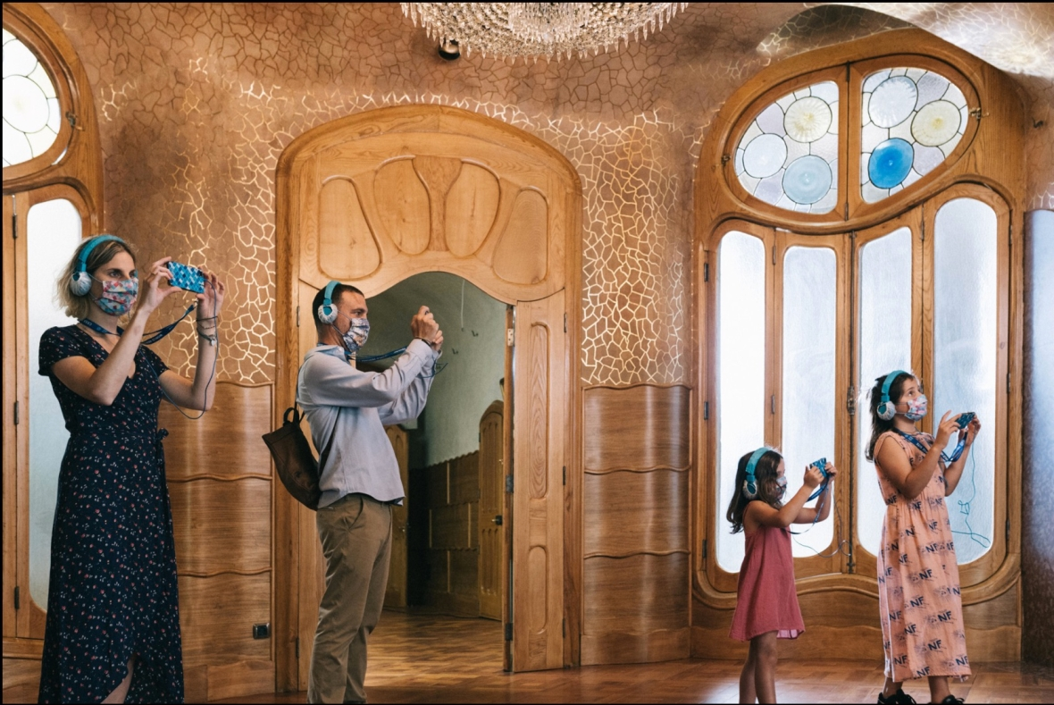 casa batllo, AR in tourism, AR museums, new technology in museums
