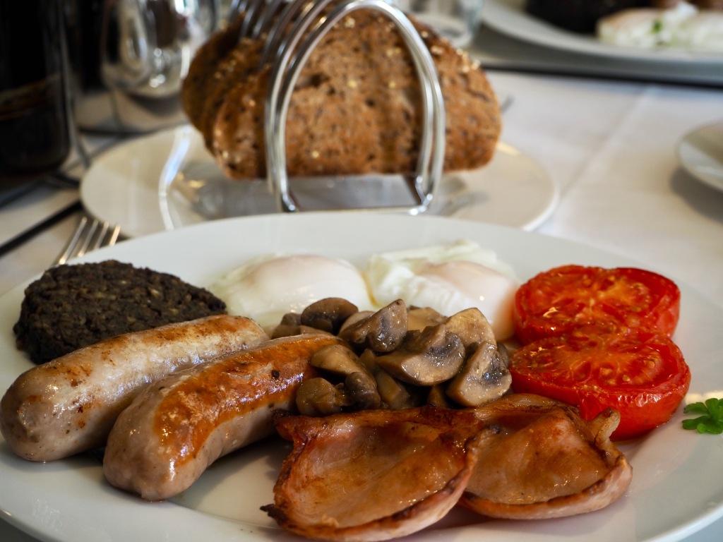 gourmet breakfast edinburgh, six brunton place