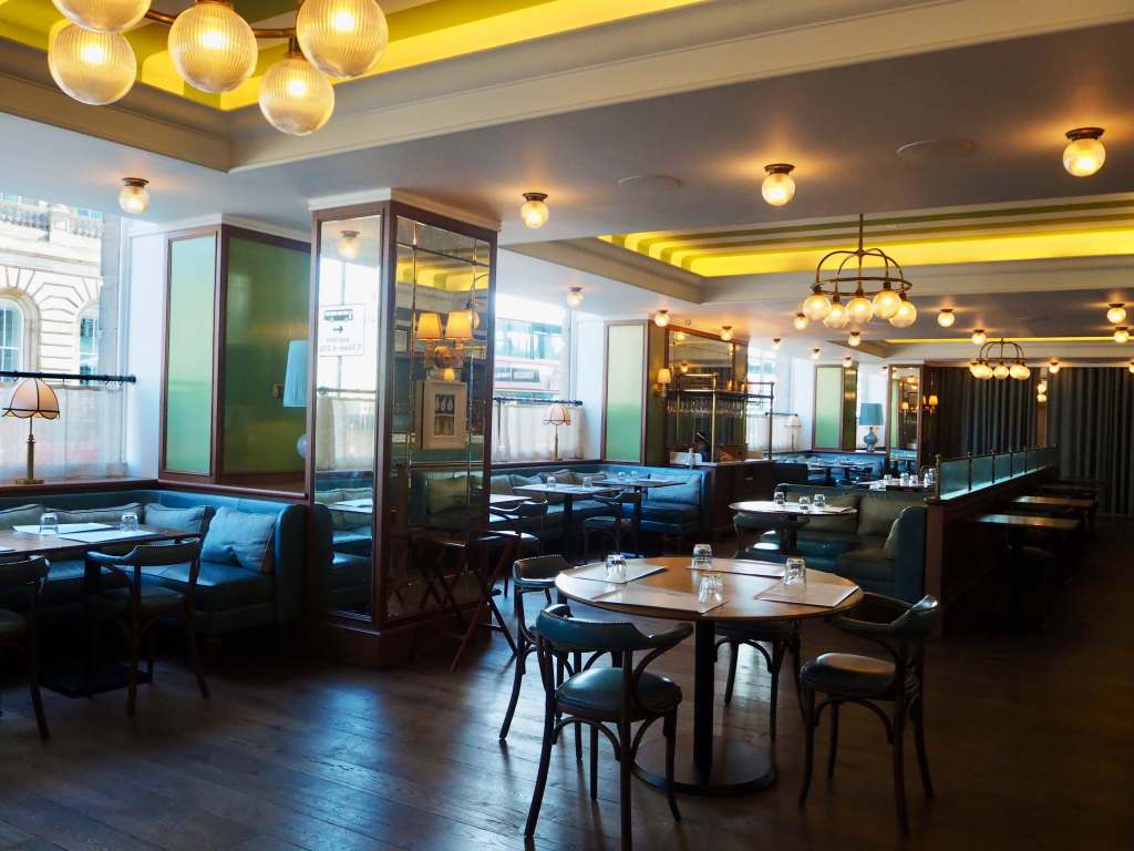 Brasserie Prince edinburgh, where to eat in edinburgh, the balmoral hotel, rocco forte hotels,