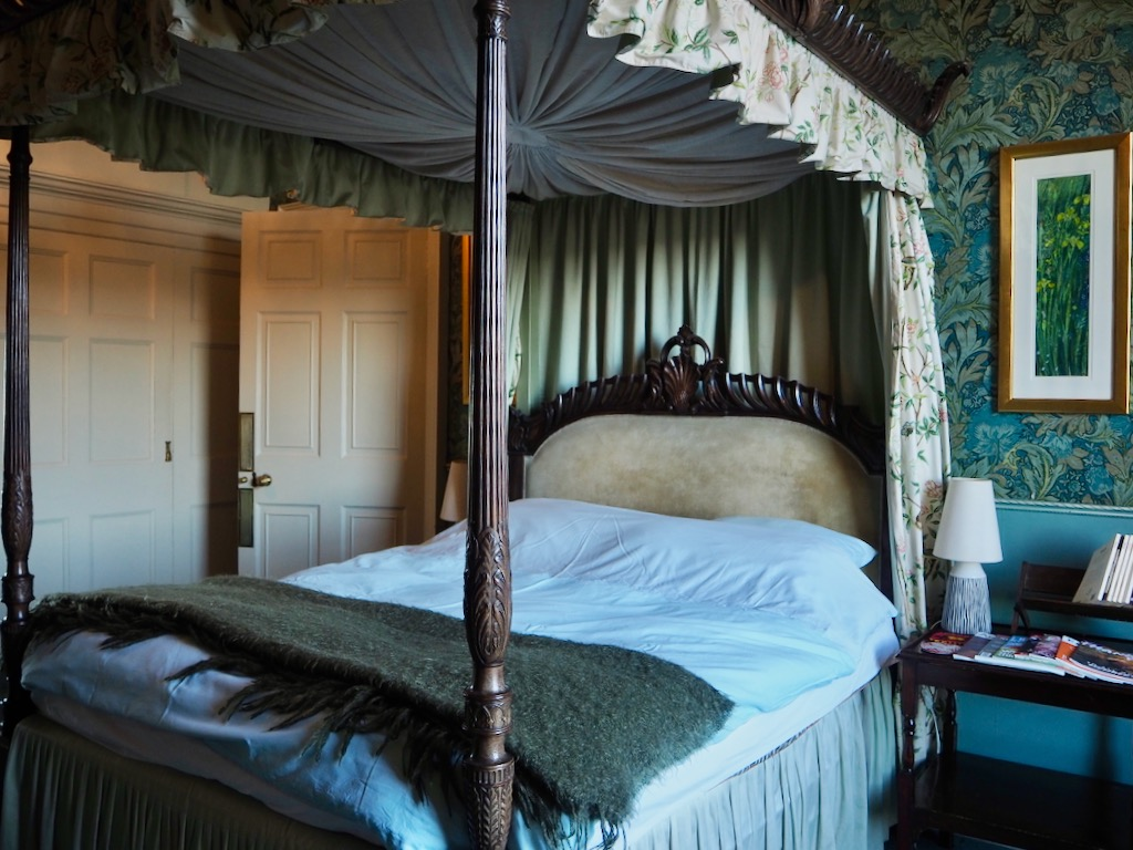 stevenson house luxury accommodation, four poster bed accommodation, historic house edinburgh