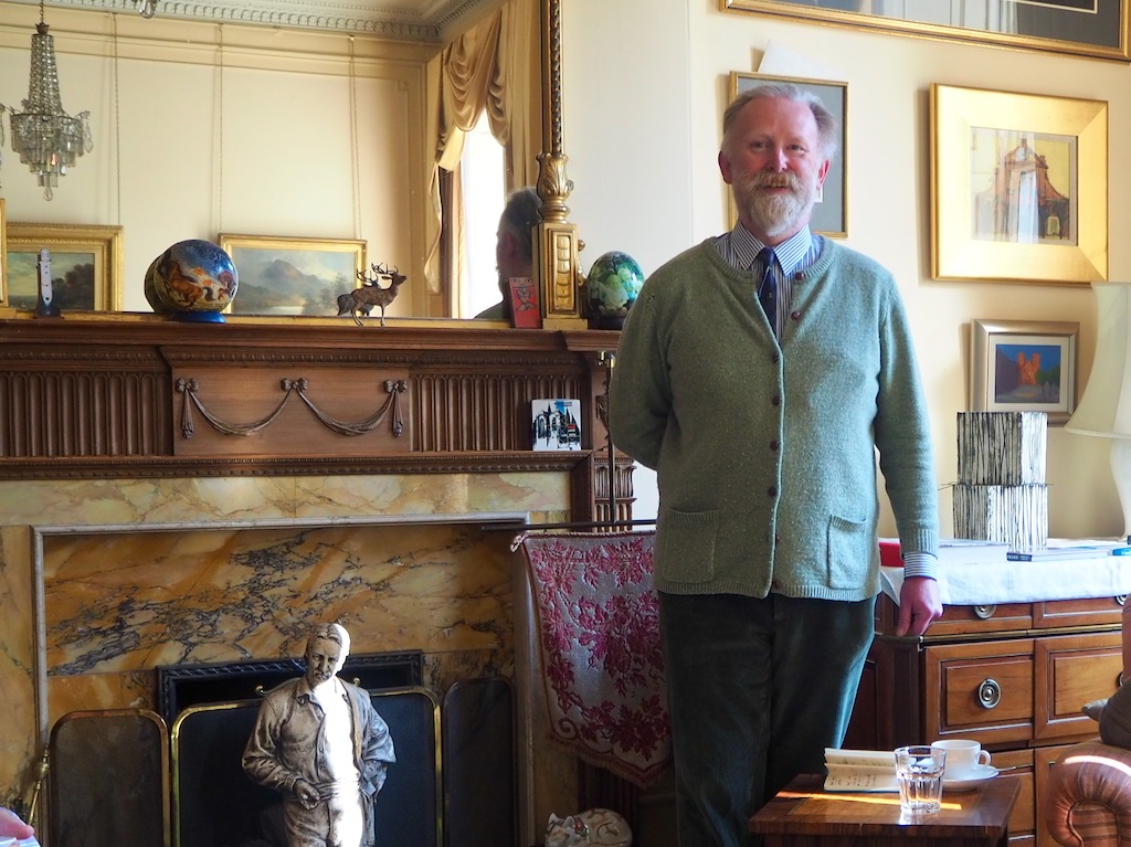 John Macfie historian, stevenson house, historic accommodation,
