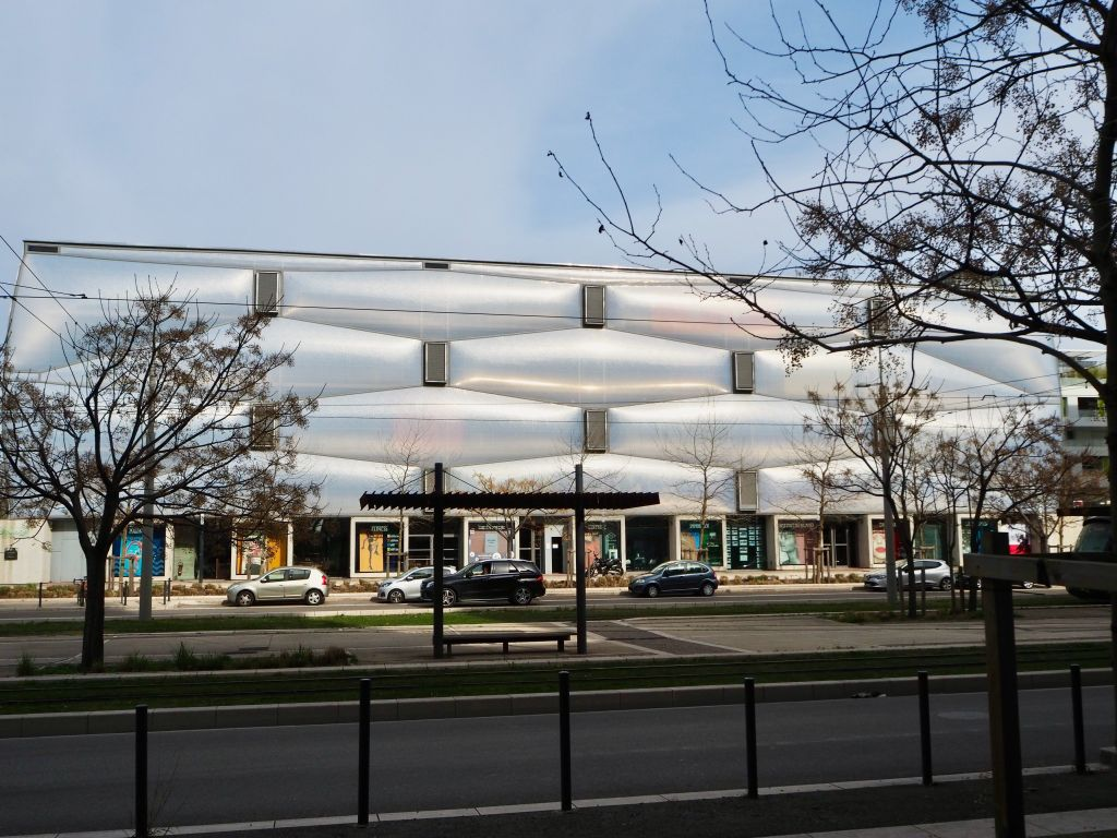 Le Nuage Philippe Starck, montpellier, montpellier architecture, what's new in montpellier,